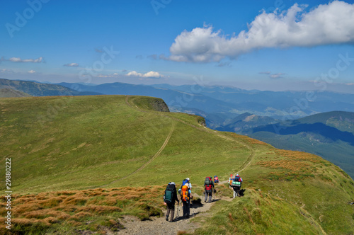 Carpathian hiking