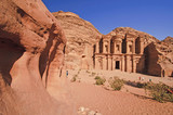 Beautiful day at the Monastery (Ad-Deir). Petra, Jordan