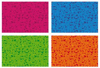 estampado espiral colores
