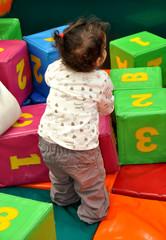 cubes apprentissage lettres chiffres bébé fille