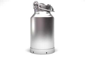 Lechera de aluminio
