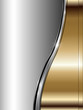 Abstract business background metallic.