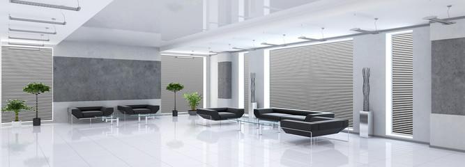 Modern interior of a hall