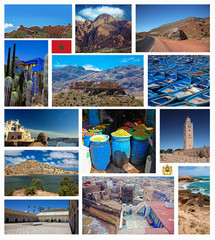 Collage of Morocco photo