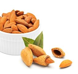 Almonds concept