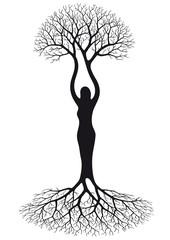 donna albero
