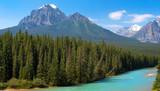 Fototapety Kanadische Wildnis im Banff National Park