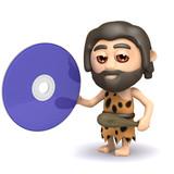 3d Caveman has HD DVD