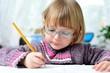 Quadro Kleinkind beim malen