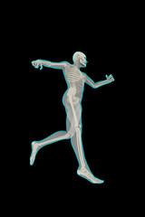 Figura umana in corsa