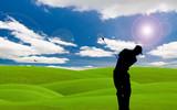 golf fairway poster