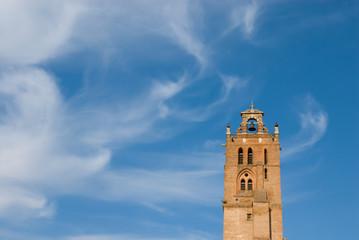 belfry and cloud