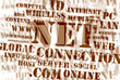 Concept of net and web – word cloud