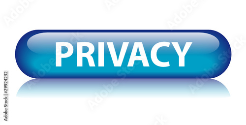 """""""PRIVACY"""" Button (policy disclaimers legal terms and conditions)"""