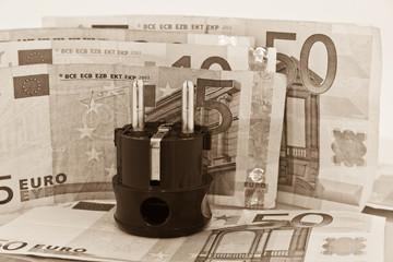 Strom Ausgaben Geld