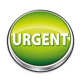 Icône vert urgent poster