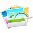 Polaroid Photo of Landscape