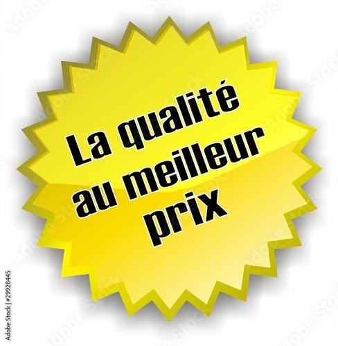 Tiquette qualit au meilleur prix fichier vectoriel for Meilleur cuisiniste qualite prix