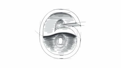 3d metal figure sketch - 6