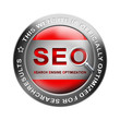 search engine optimization, button red