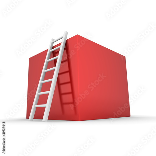 Climb up the Shiny Red Box