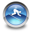 "Glossy Pictogram ""Downhill Skiing"""
