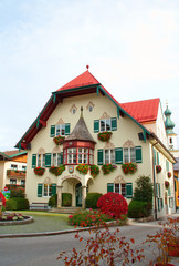 St. Gilgen Town Hall in Austria