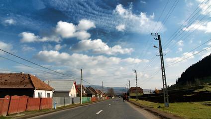 Transylvanian street