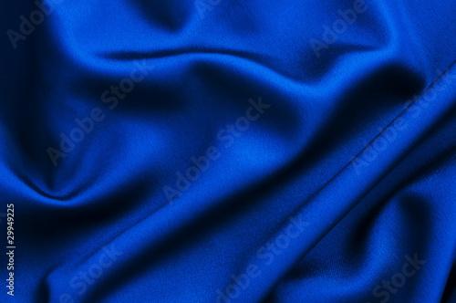 Tissu soie bleue - 29949225