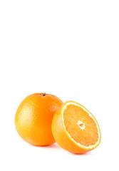 Arancia più metà