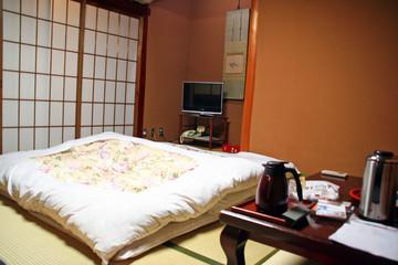 ryokan tatami chambre japon intérieur