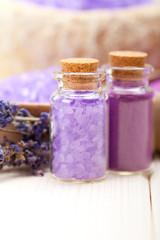 Violet aromatherapy - lavender Spa minerals