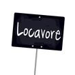 """Ardoise """"locavore"""""""