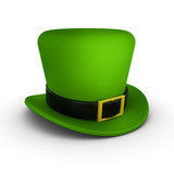 Fototapety St Patrick's hat side