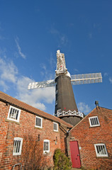 Windmill at a granary
