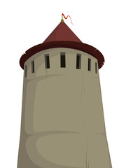 Tower of old fortress