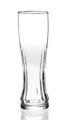 Empty glass isolated on a white background © phant