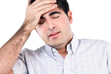Having migraine