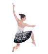 Beautiful young ballerina woman
