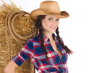 Country Girl Portrait