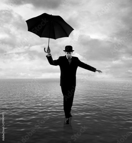 Walking on ocean