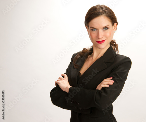 Confidant Business woman