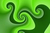 spirales vertes
