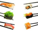 Fototapete Japan - Meeresfrüchte - Fische