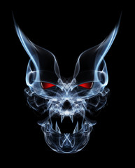 abstract smoke  devil