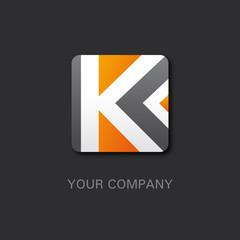 logo entreprise, business, k