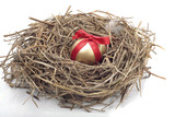 Easter egg nest decorations