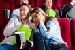 Paar im Kino