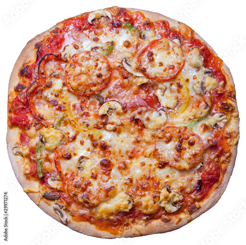 italienische steinofen pizza handgemacht von canoncam lizenzfreies foto 29971274 auf. Black Bedroom Furniture Sets. Home Design Ideas