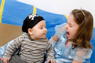 Prinzessin und Pirat